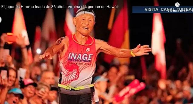 Un deportista de 86 años