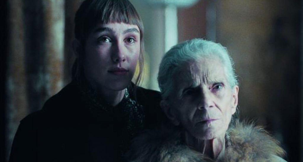 Una abuela que da miedo